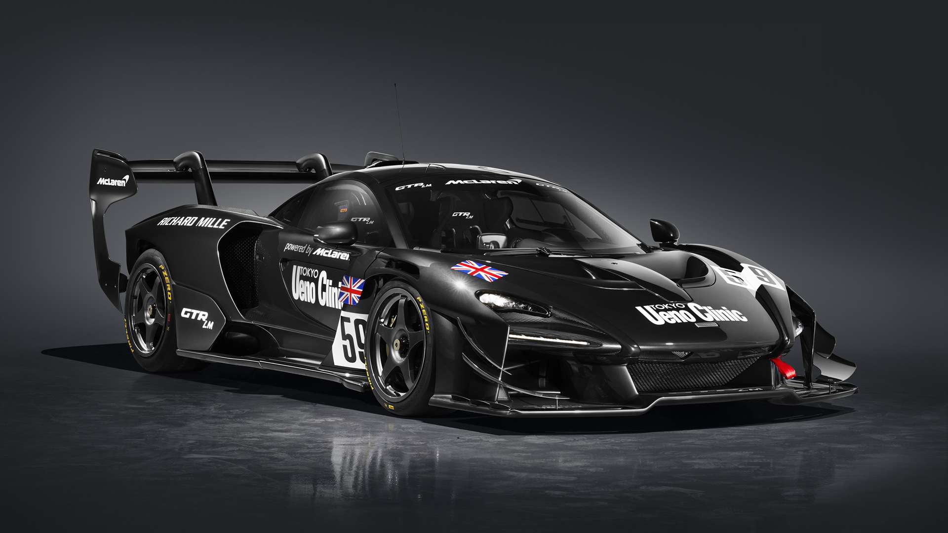 "McLaren Senna GTR LM 825/1 - ""The Ueno Clinic car"""
