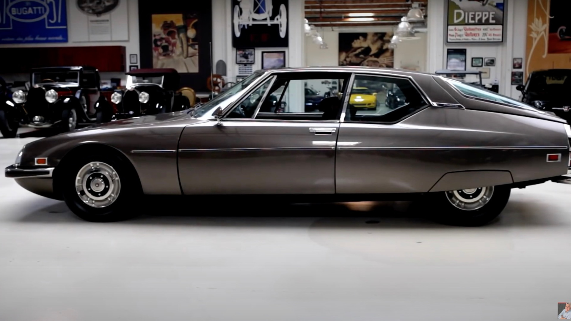 1972 Citroën SM on Jay Leno's Garage