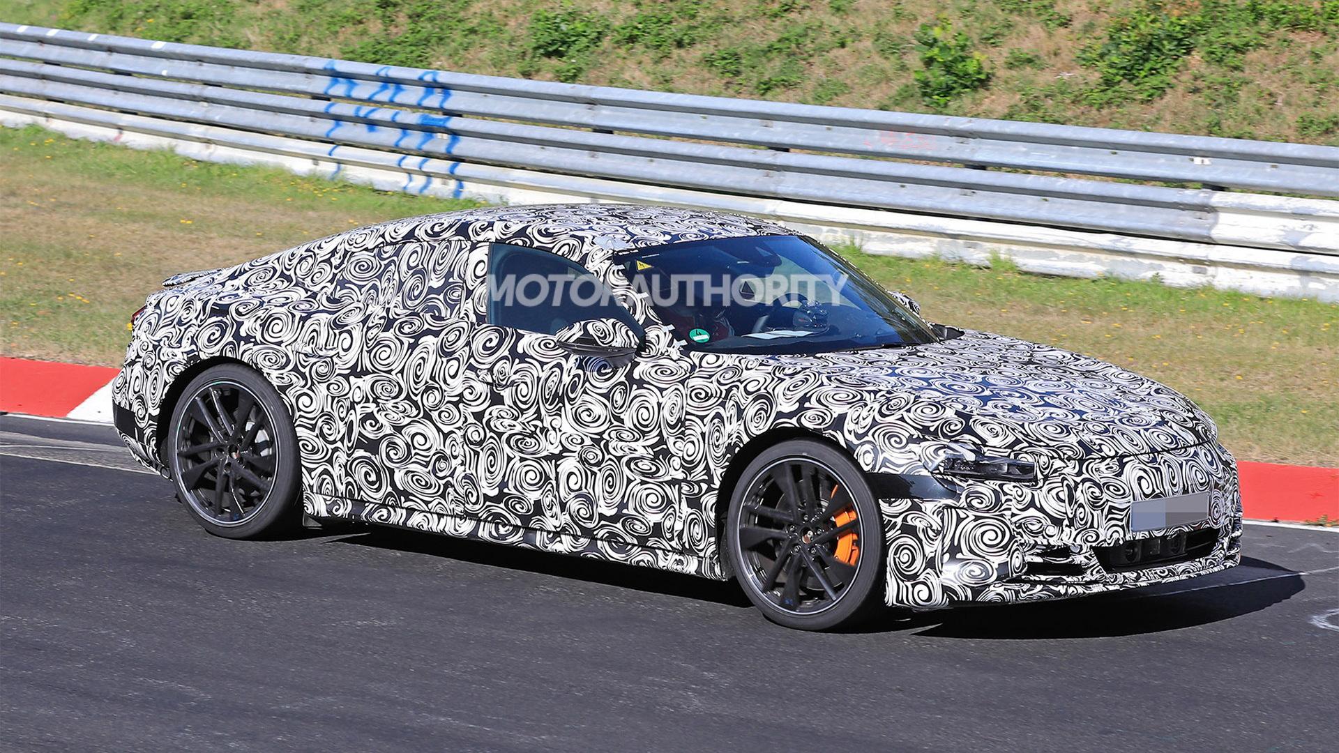 2022 Audi E-Tron GT spy shots: Porsche Taycan's Audi twin ...