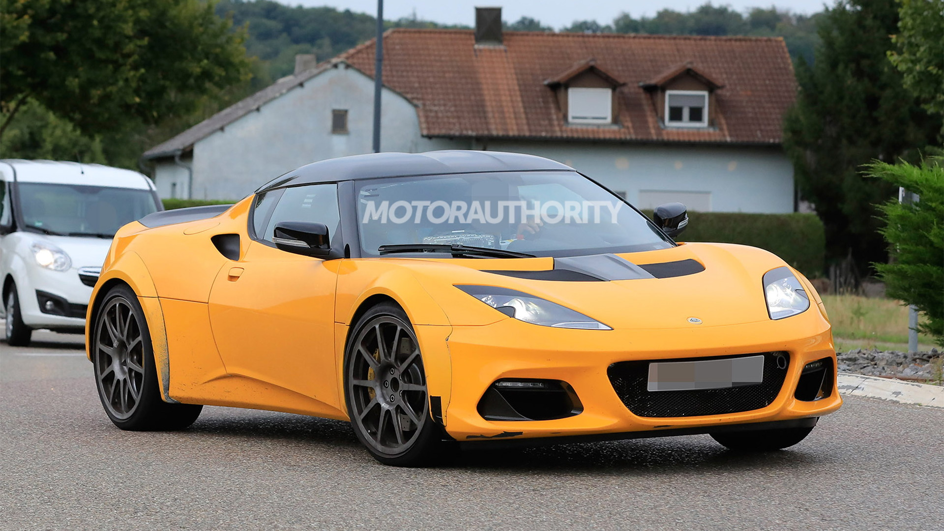 2022 Lotus Esprit spiritual successor test mule spy shots - Photo credit: S. Baldauf/SB-Medien