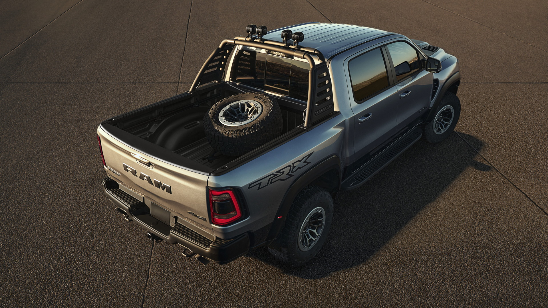 2021 Ram 1500 TRX fitted with Mopar accessories