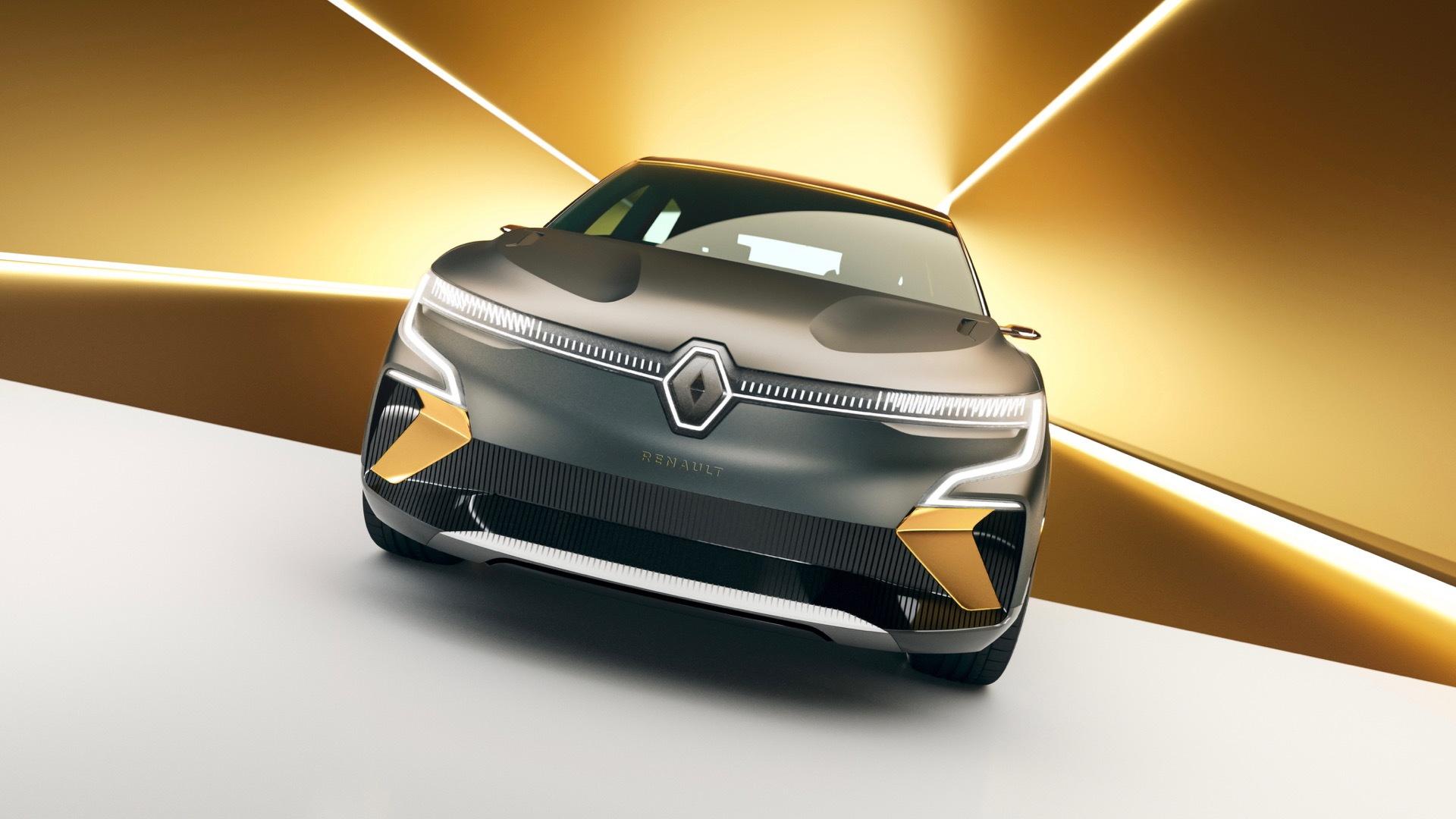Renault Mégane eVision concept