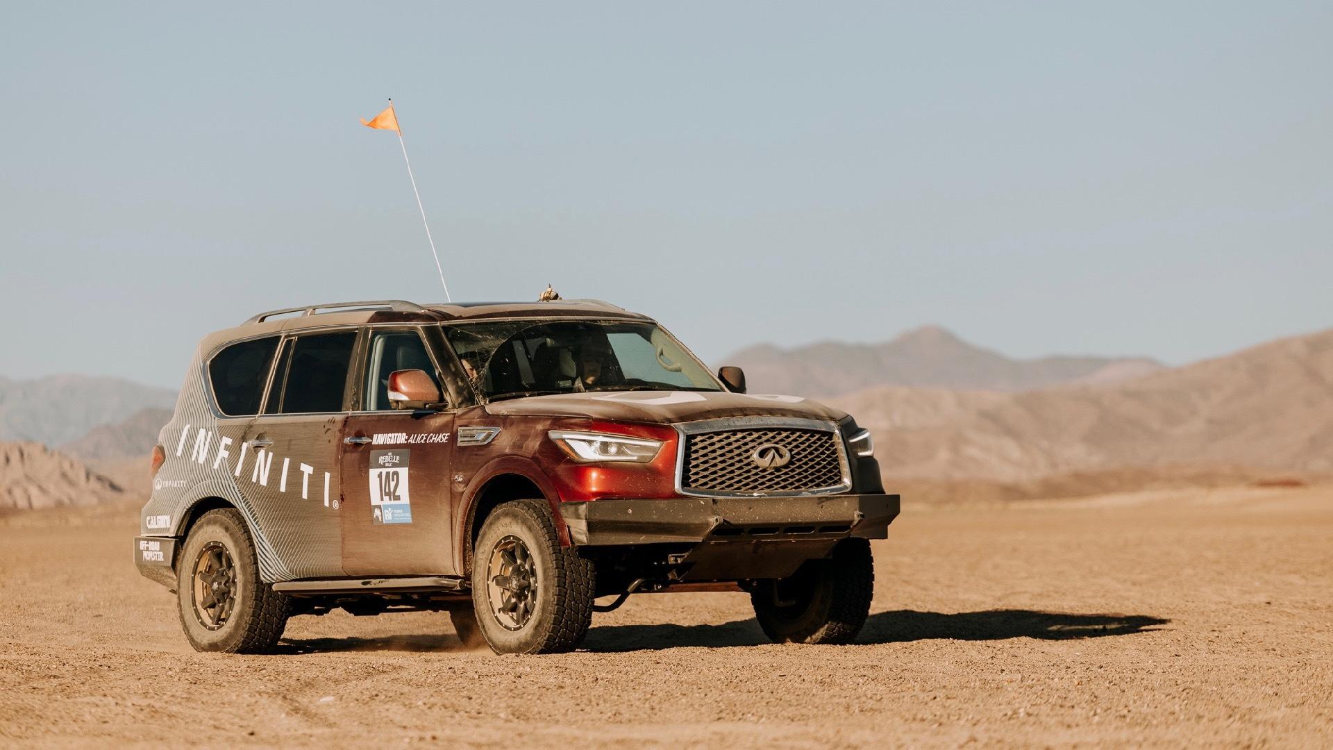 2021 Infiniti QX80 Rebelle Rally