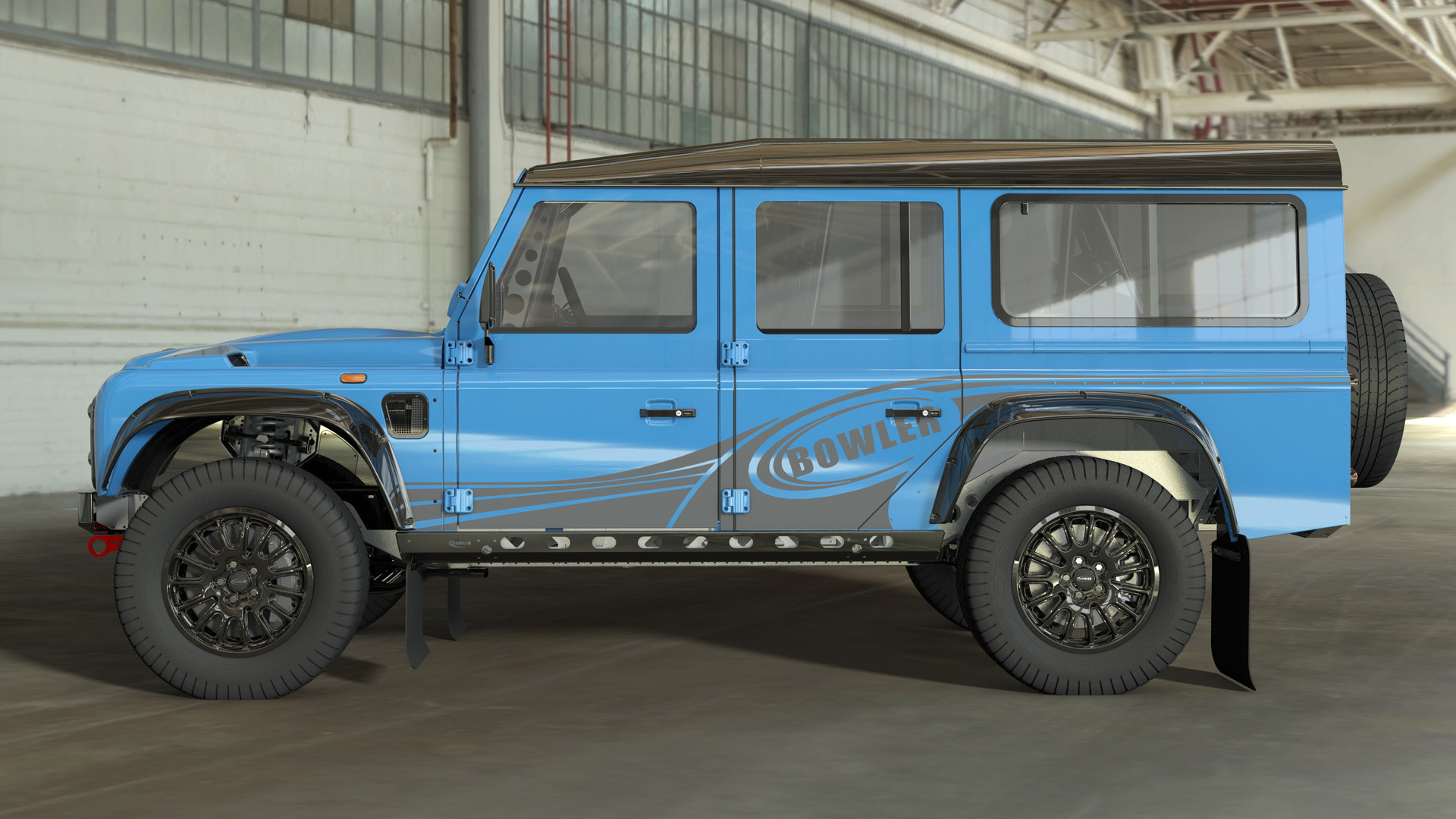 Bowler to build performance SUVs using the original Land Rover Defender 110 body