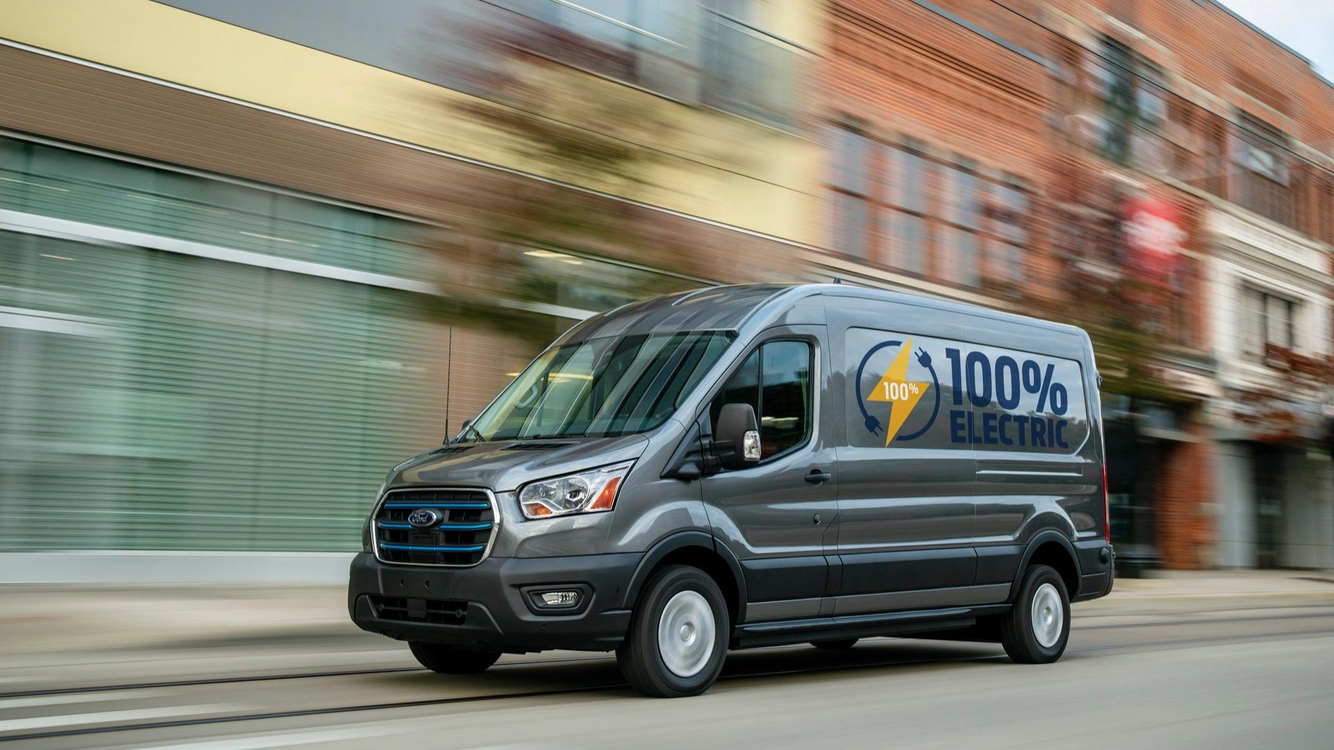 2022 Ford E-Transit