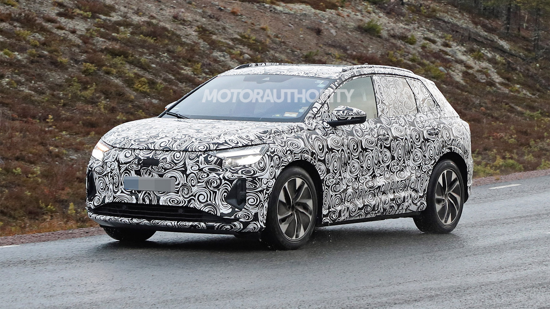2022 Audi Q4 E-Tron spy shots - Photo credit: S. Baldauf/SB-Medien