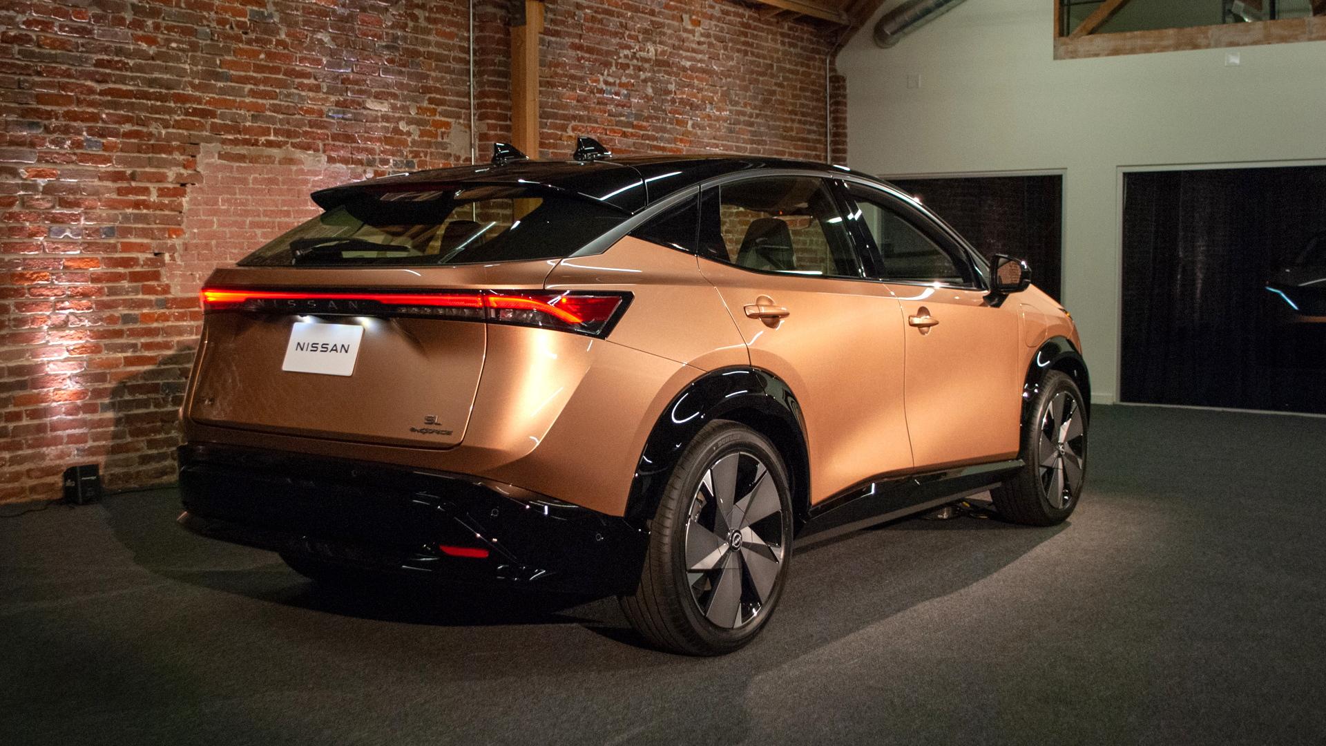 Nissan Ariya prototype first look  -  Los Angeles, November 2020