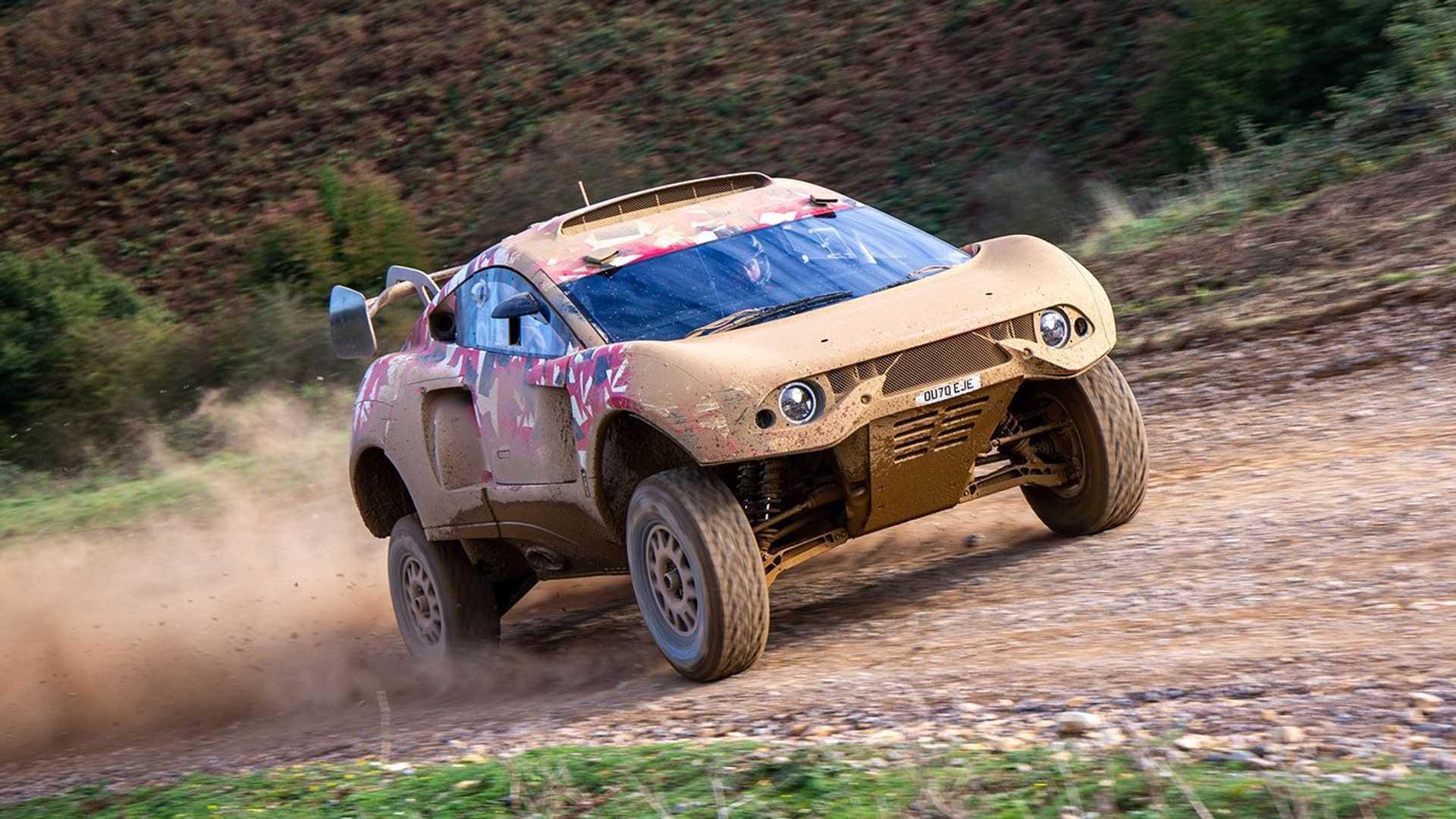 2021 BRX Hunter Dakar Rally T1 race car