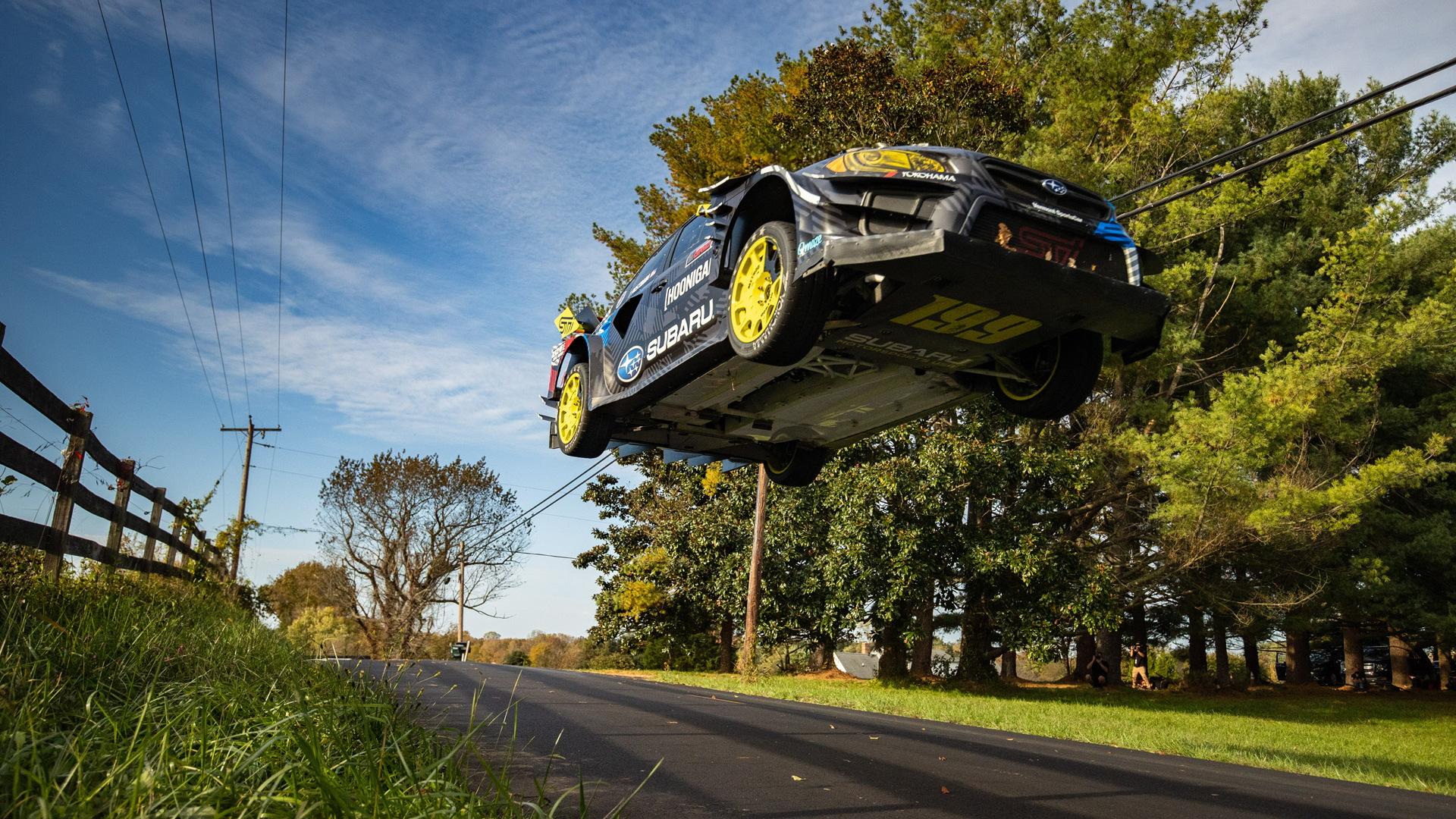 Gymkhana 2020 featuring Travis Pastrana in a custom Subaru WRX STI