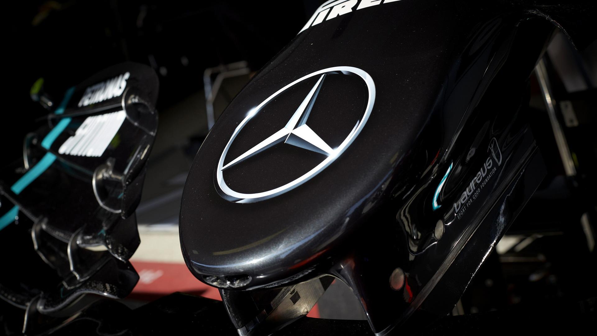 2020 Mercedes-Benz AMG W11 Formula One race car