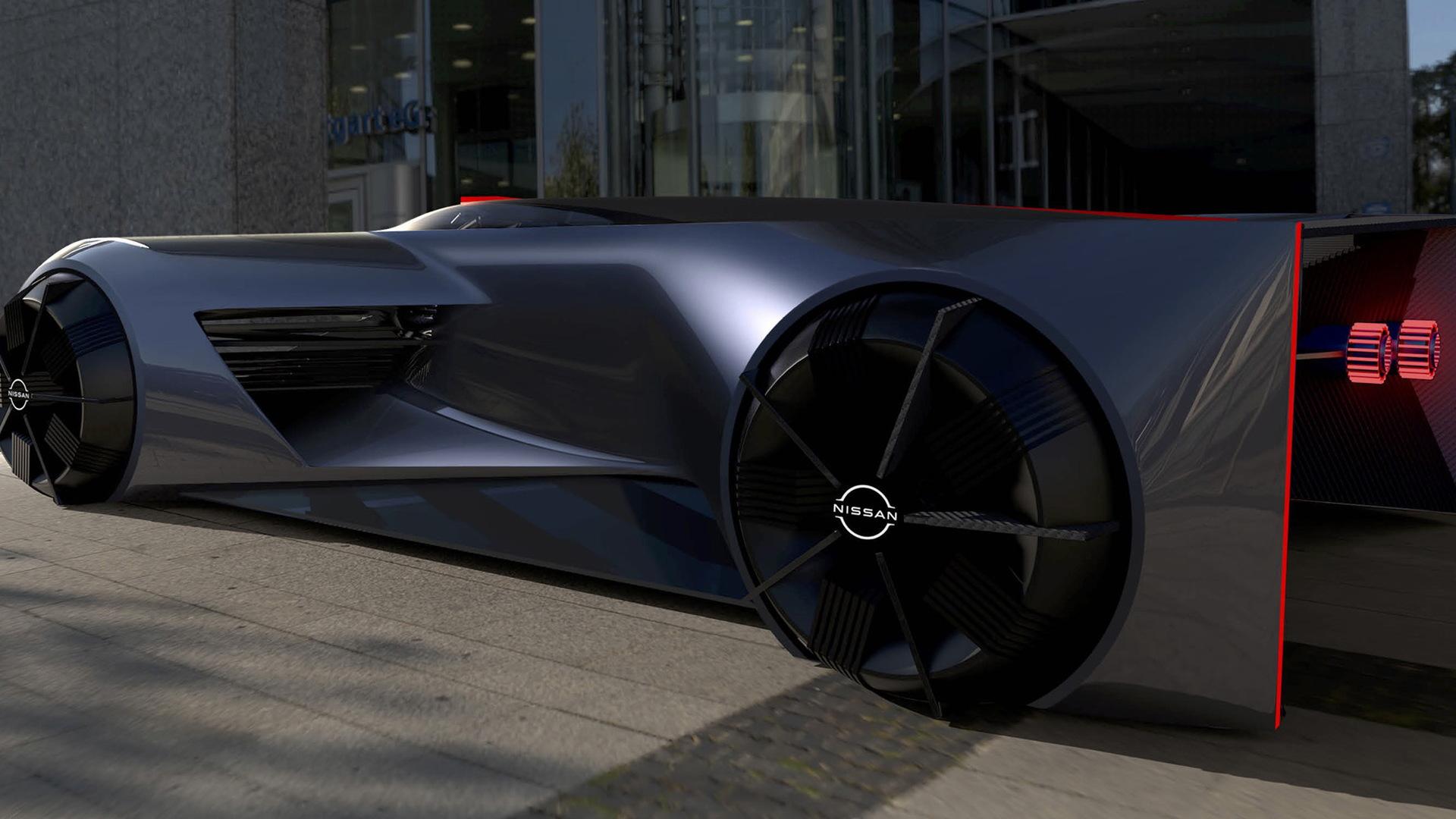 Nissan GT-R X 2050 concept