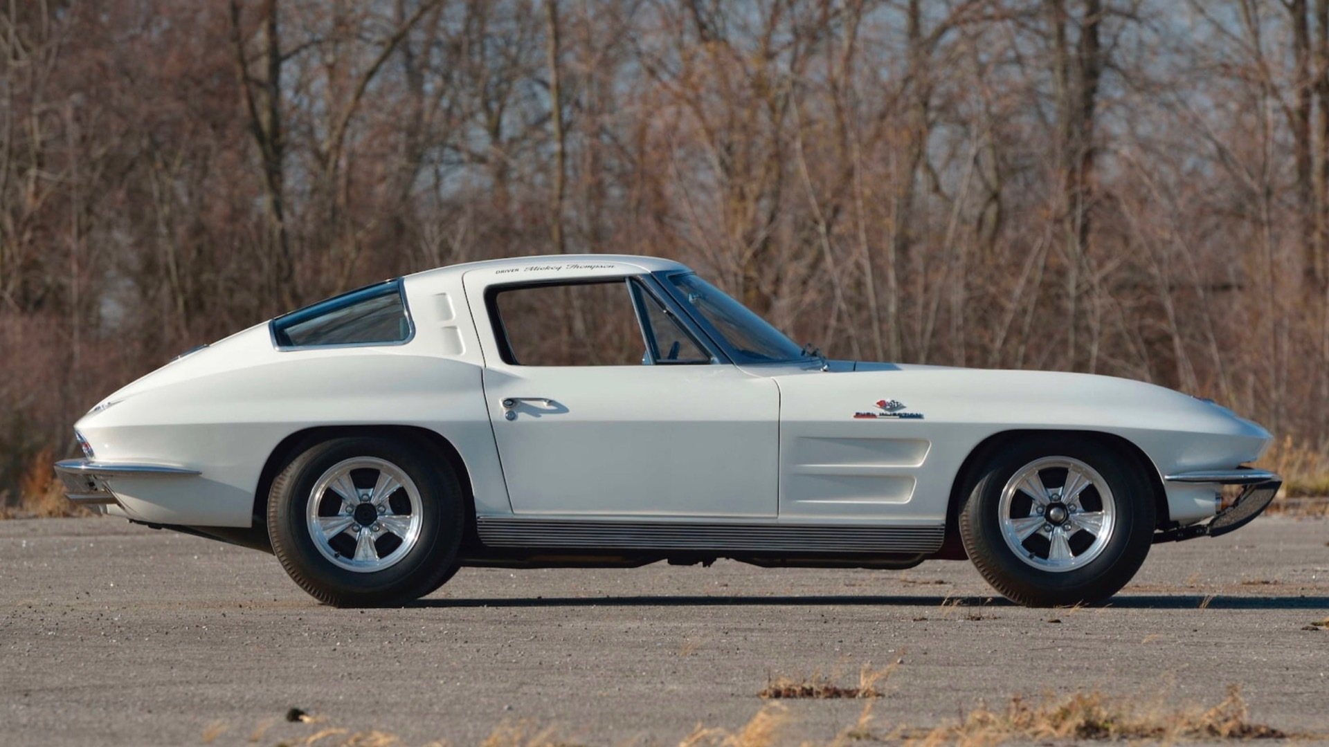 1963 Corvette Chevrolet Corvette Z06 owned by Mickey Thompson (Photo by Mecum Auctions)