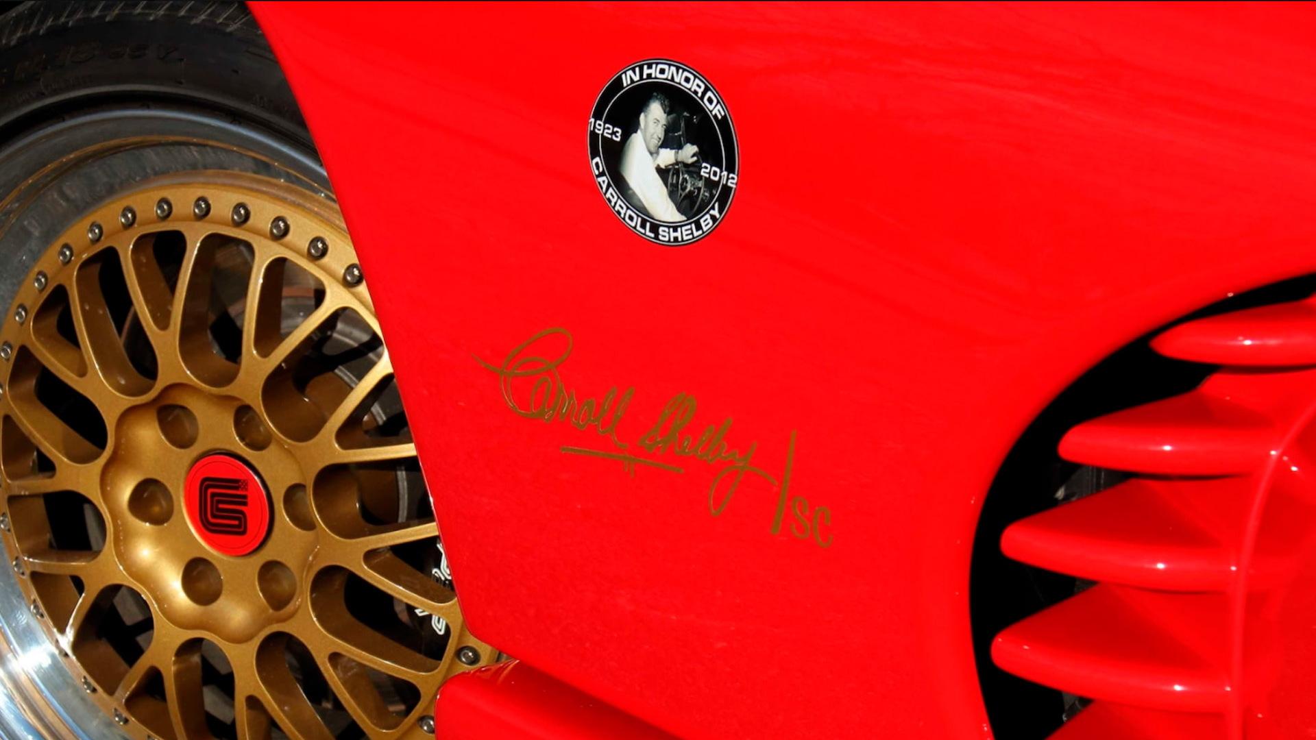 1997 Dodge Shelby Viper GTS/CS prototype - Photo credit: Mecum Auctions