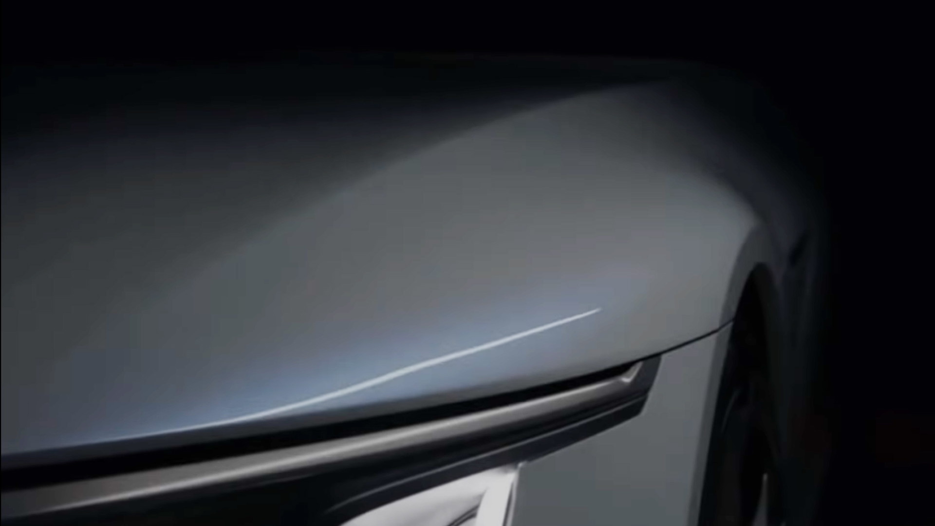 Cadillac Celestiq teased during General Motors' 2021 CES presentation