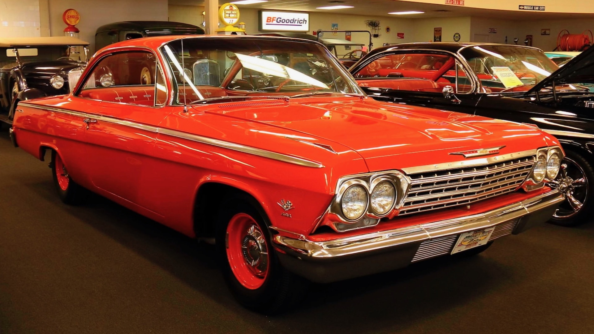 1962 Chevrolet Bel Air bubble top from Rick Treworgy collection (Photo by Mecum Auctions)