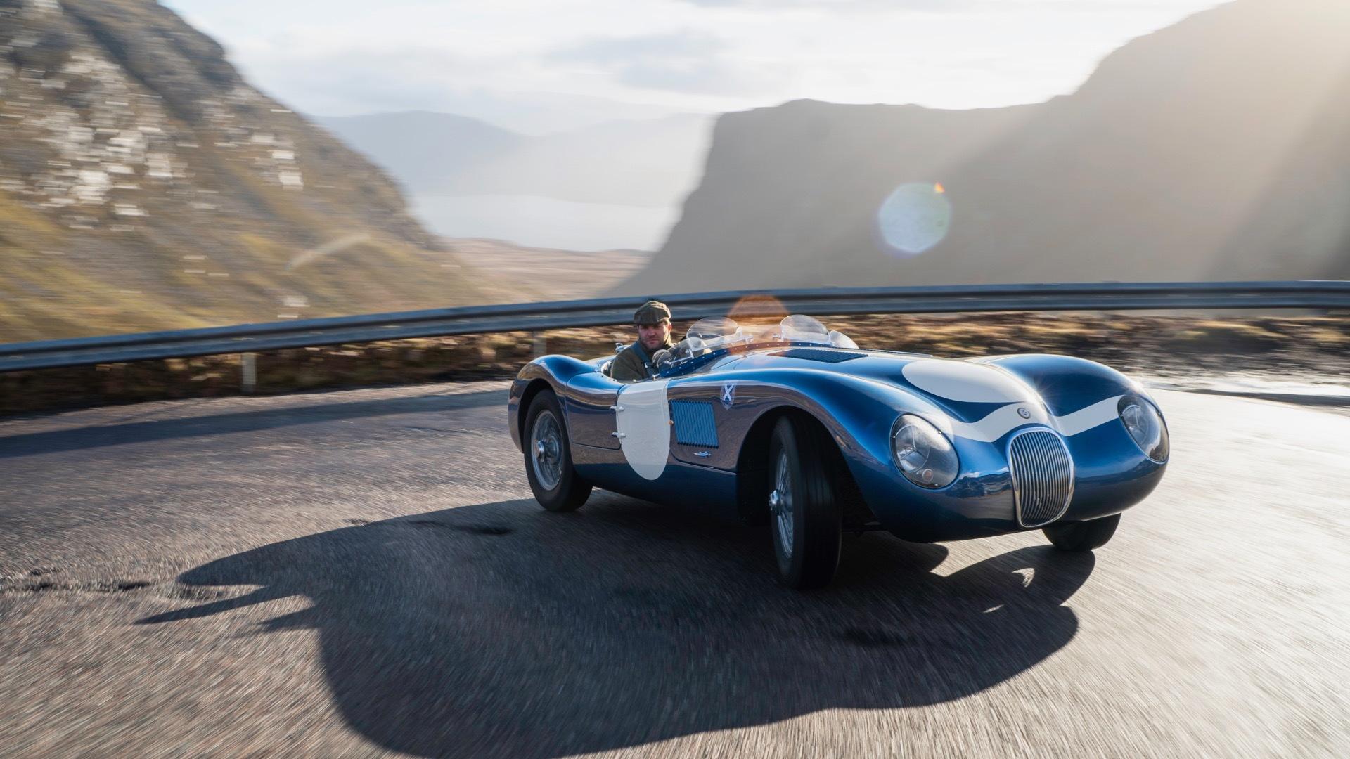Ecurie Ecosse Jaguar C-Type continuation