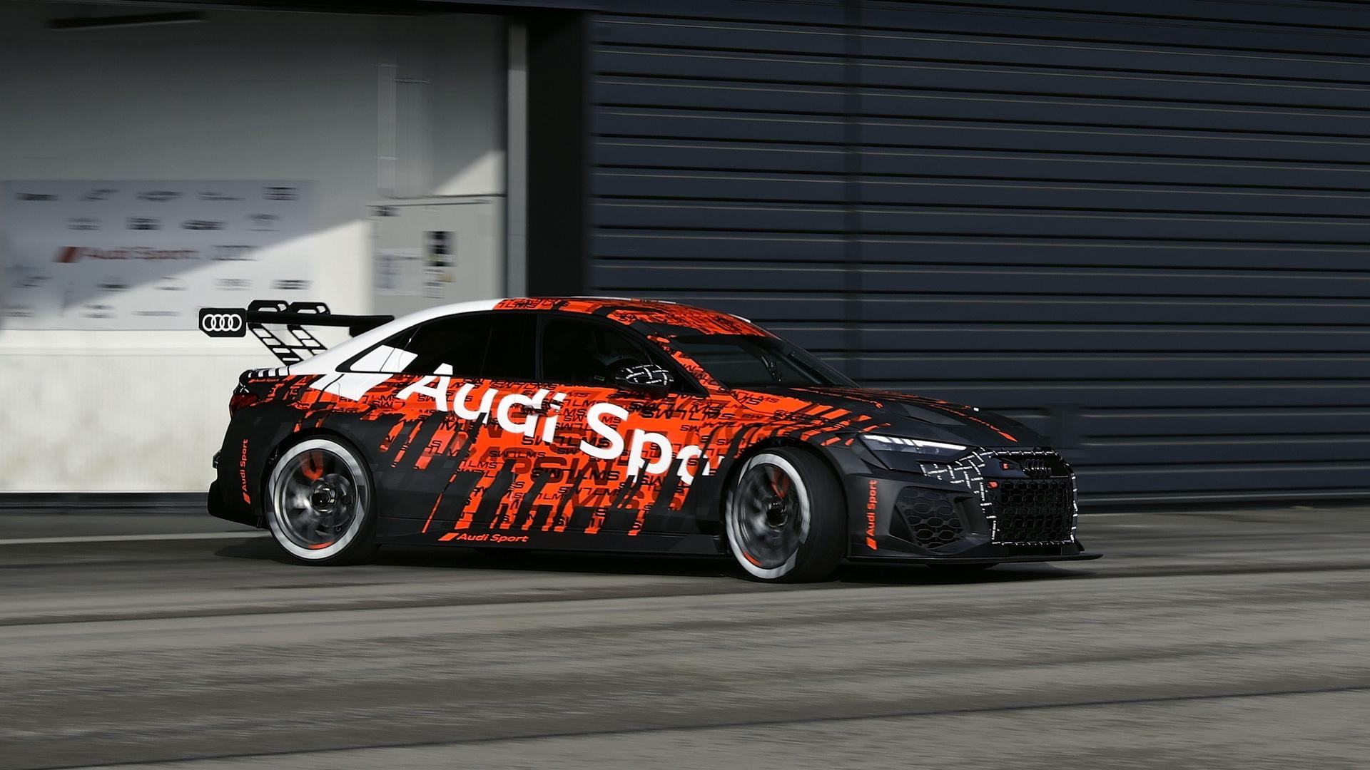 2021 Audi RS 3 LMS race car
