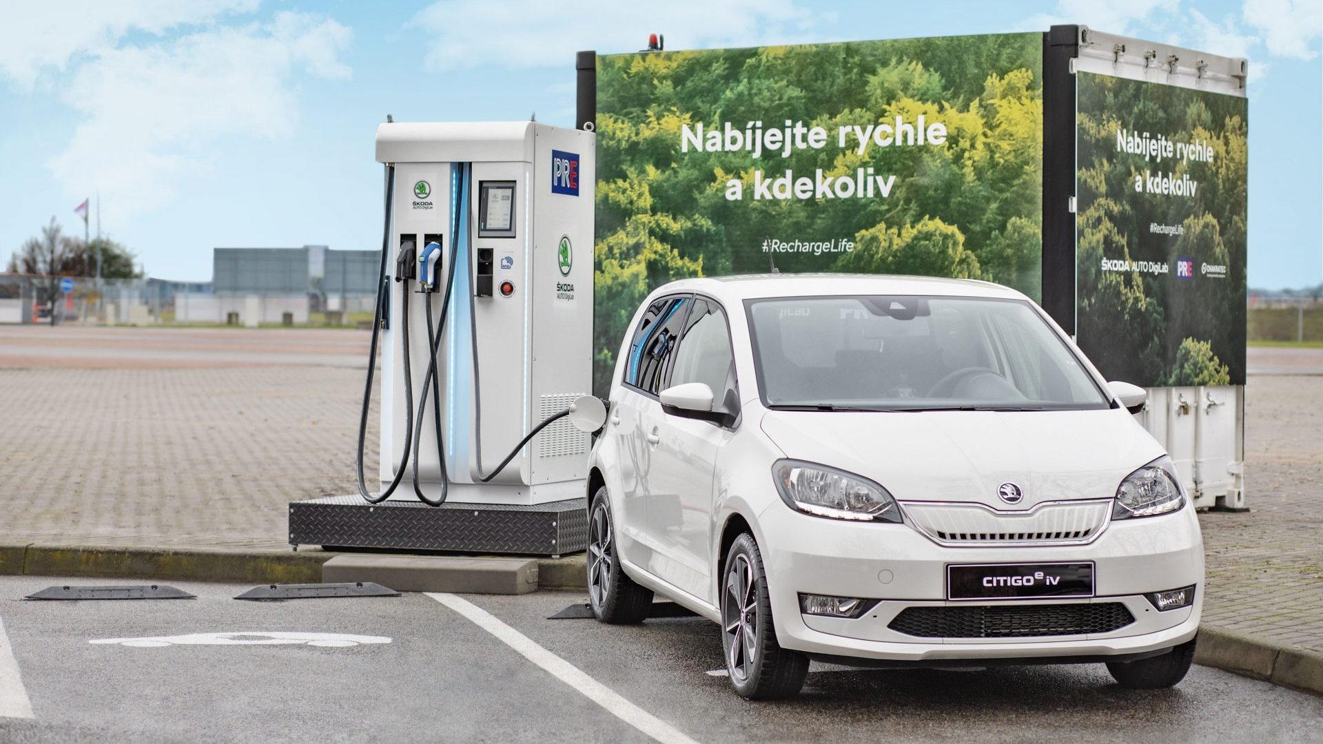 Chakratec flywheel-based Kinetic Energy Storage systems - Photos by Škoda Auto DigiLab
