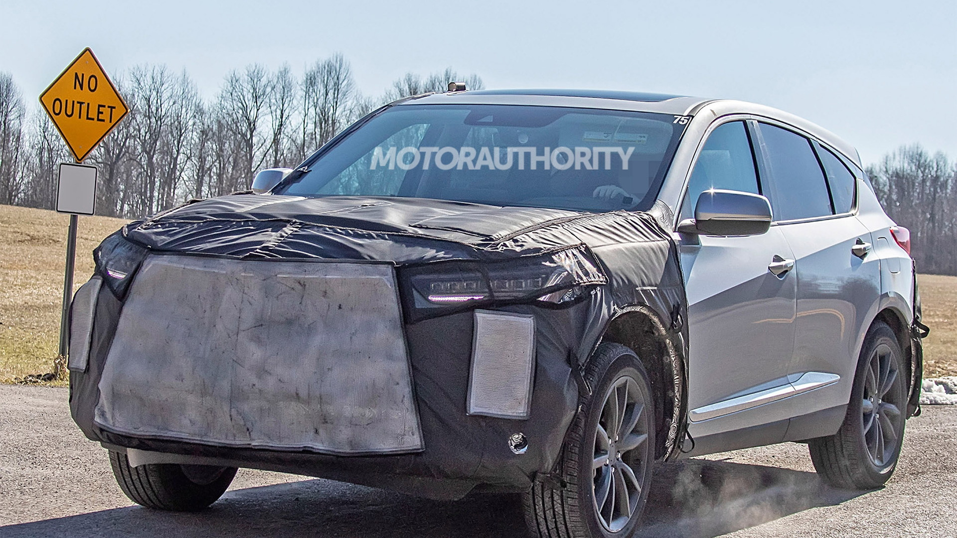 2022 Acura RDX facelift spy shots - Photo credit: S. Baldauf/SB-Medien