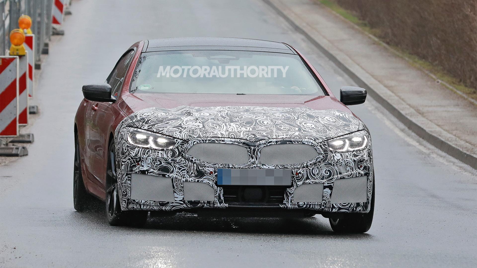2023 BMW 8-Series Gran Coupe facelift spy shots - Photo credit:S. Baldauf/SB-Medien