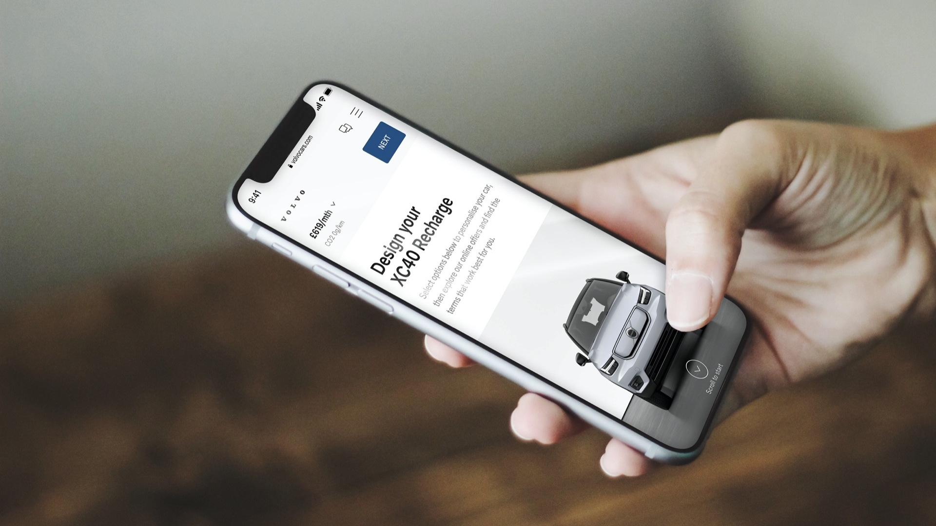 Care by Volvo online sales for 2022 Volvo EVs