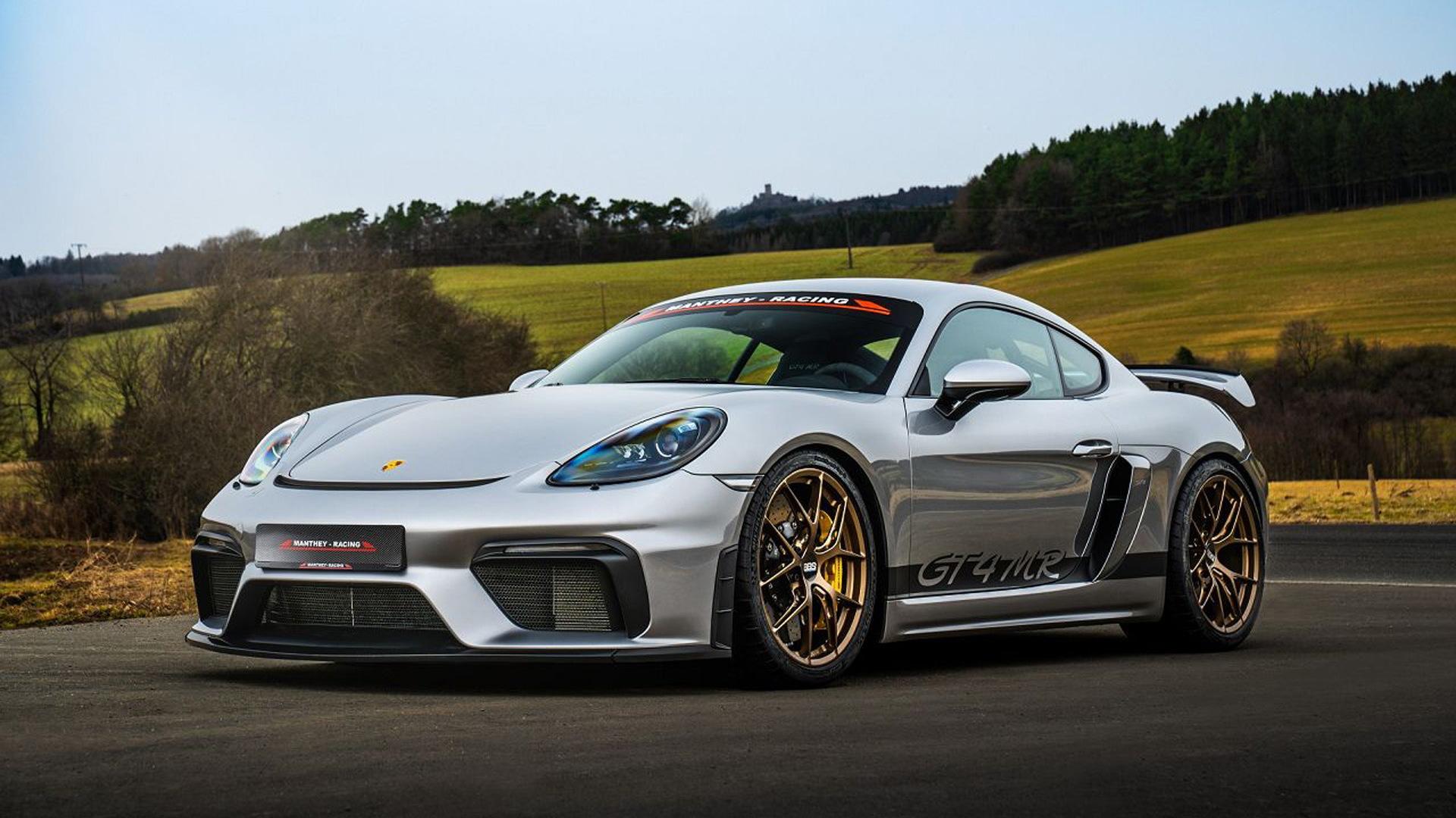 2020 Porsche 718 Cayman GT4 MR