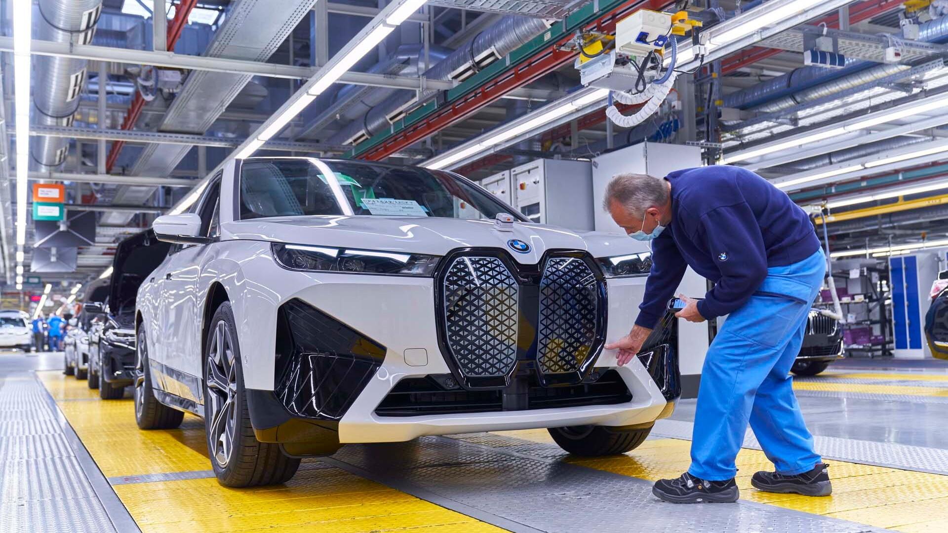 BMW iX production  -  Dingolfing