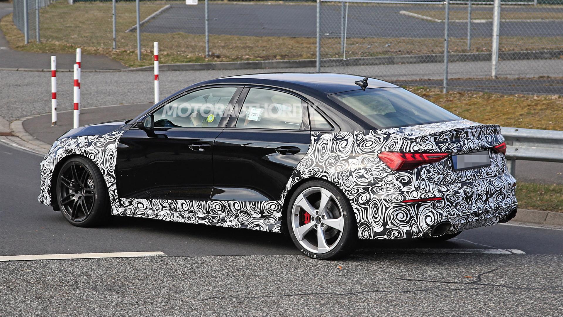 2022 Audi RS 3 spy shots - Photo credit: S. Baldauf/SB-Medien