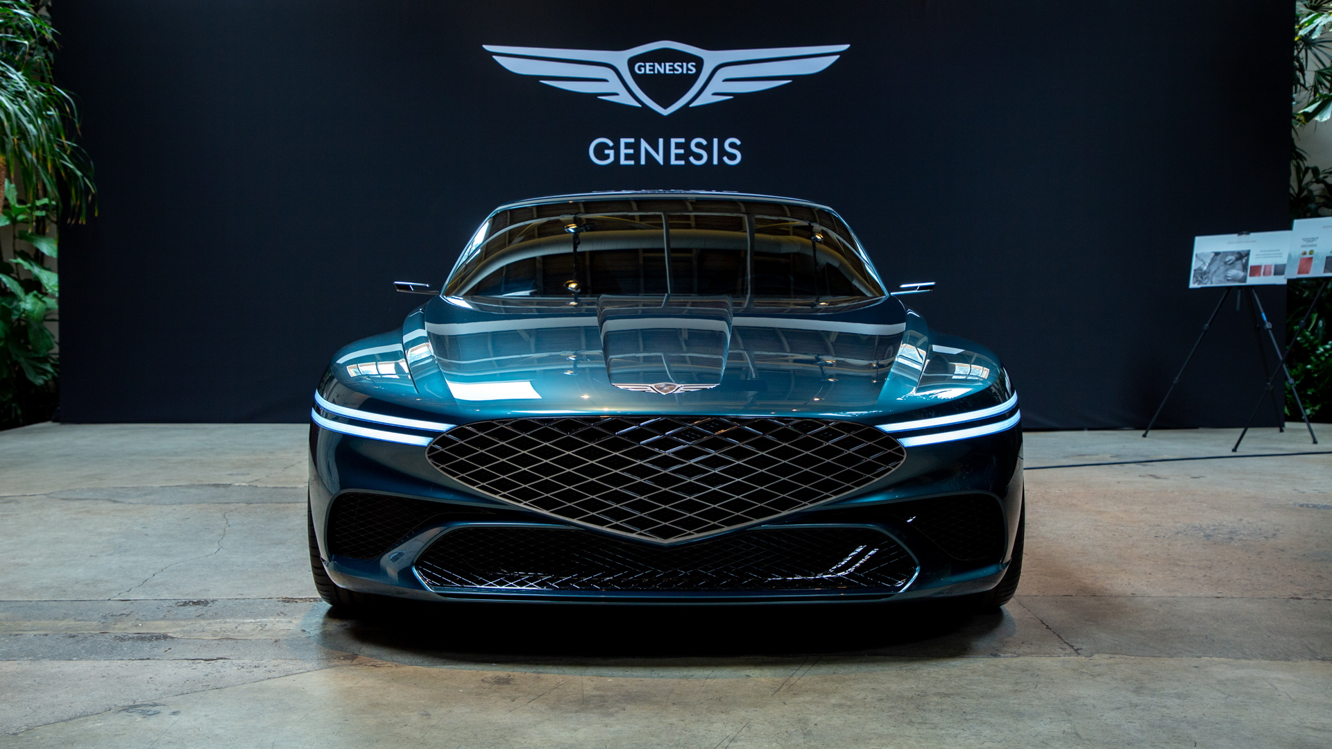 Genesis X concept  -  March 2021