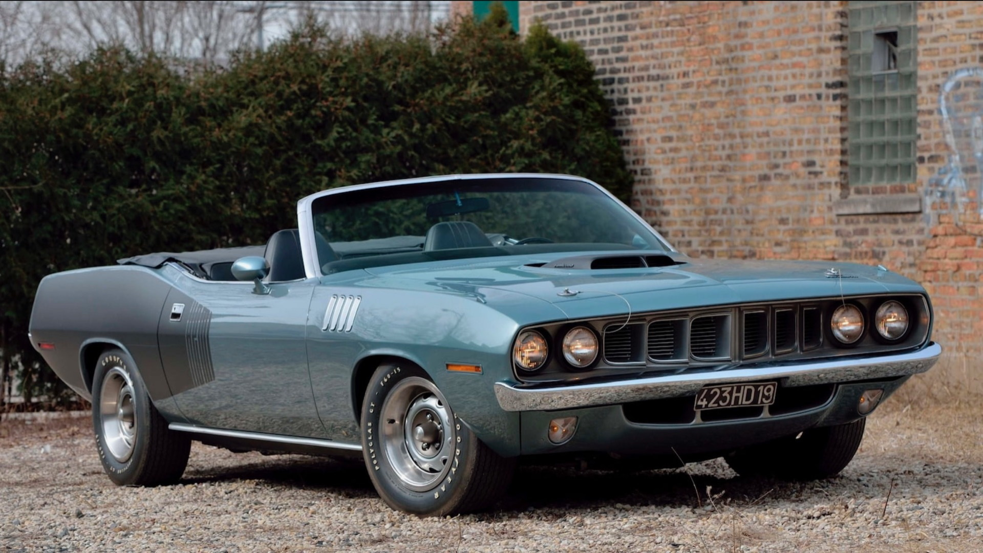 1971 Plymouth Hemi 'Cuda Convertible (Photo by Mecum Auctions)