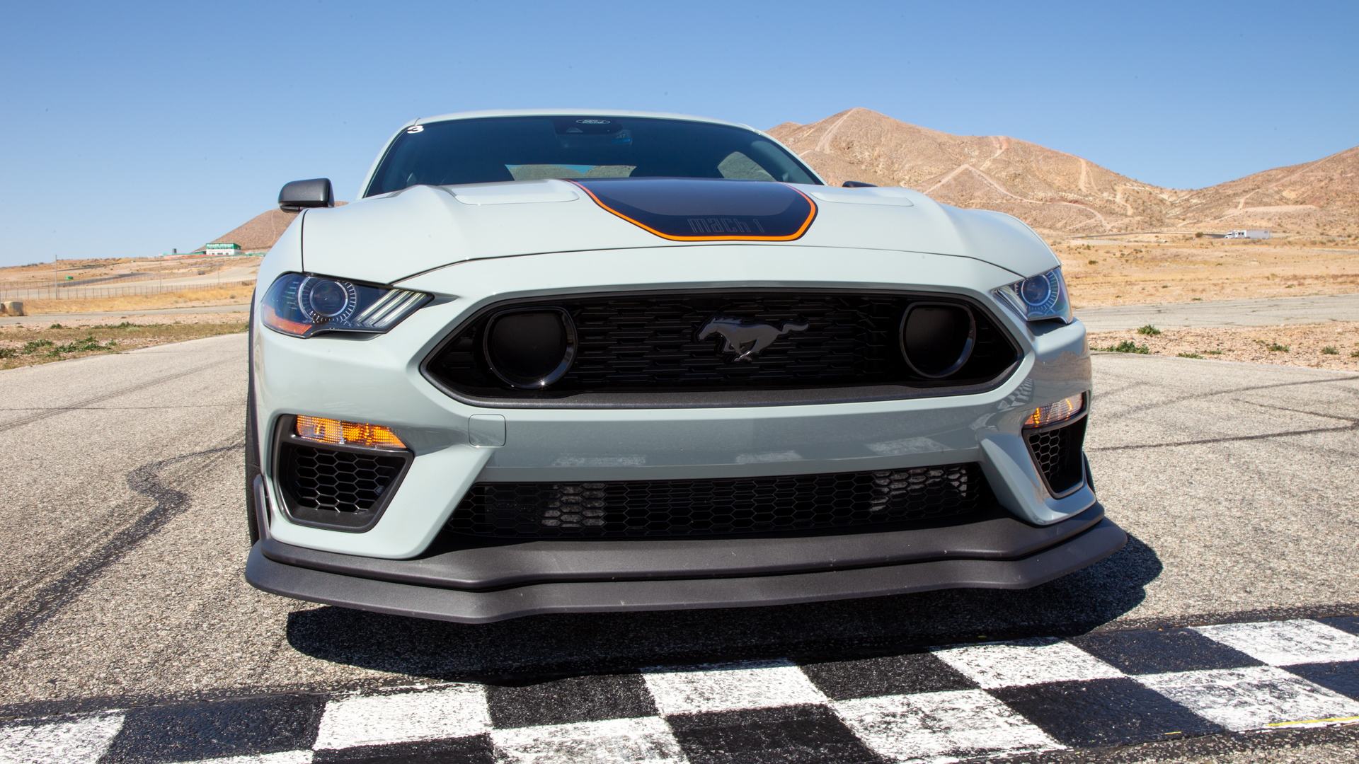 2021 Ford Mustang. Mach 1