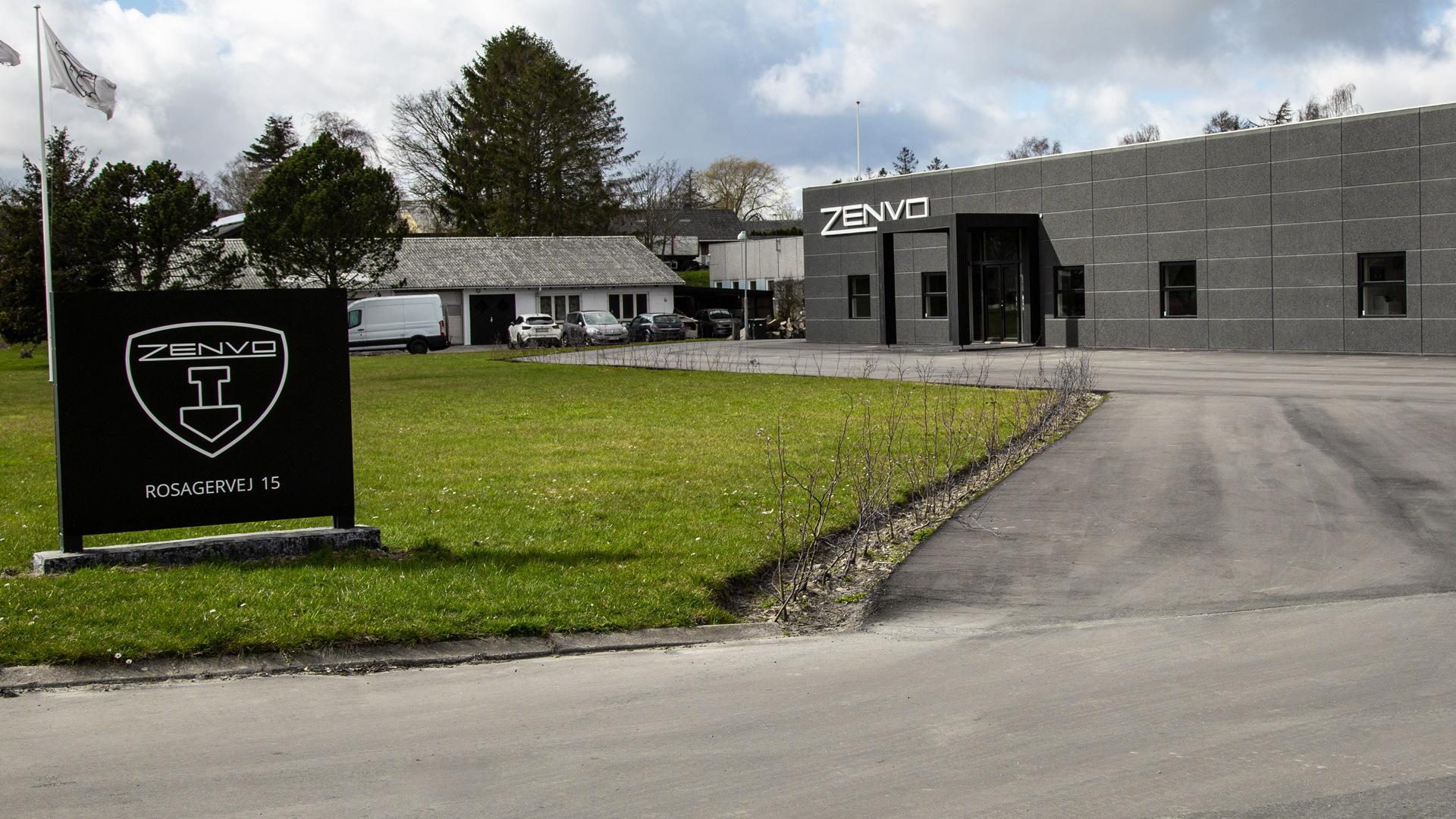 Zenvo headquarters in Præstø, Denmark