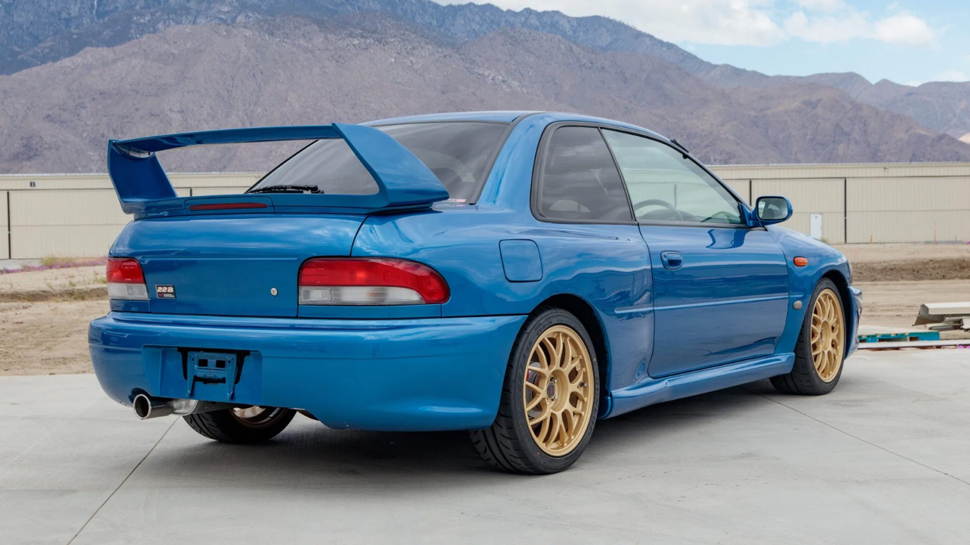 1998 Subaru Impreza 22B STI - Photo credit: Bring A Trailer