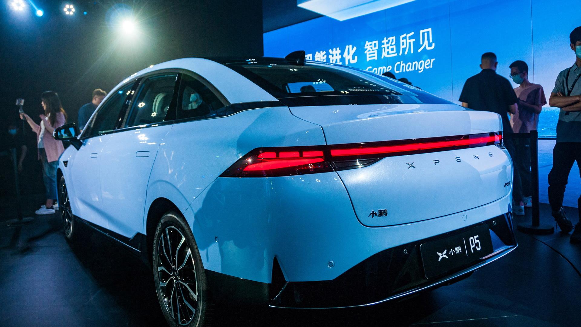 2022 Xpeng P5 - 2021 Shanghai auto show
