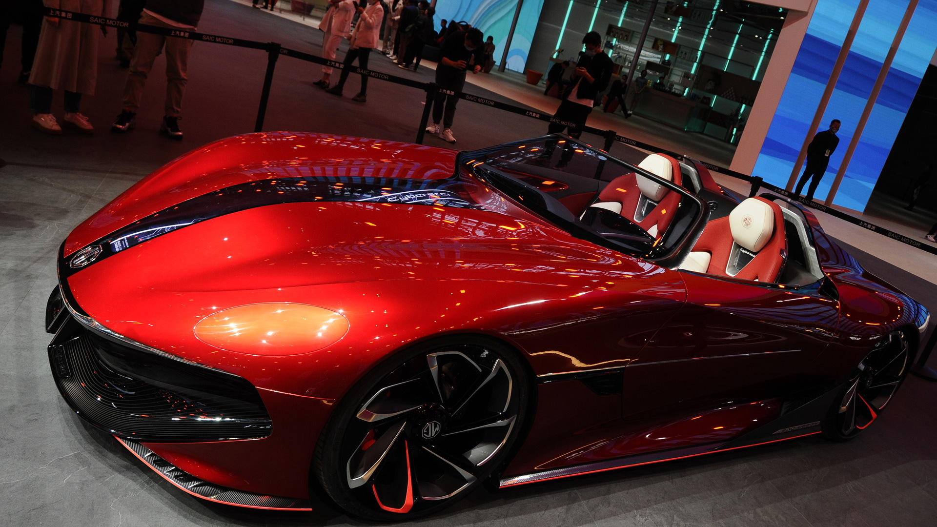 MG Cyberster concept - 2021 Shanghai auto show