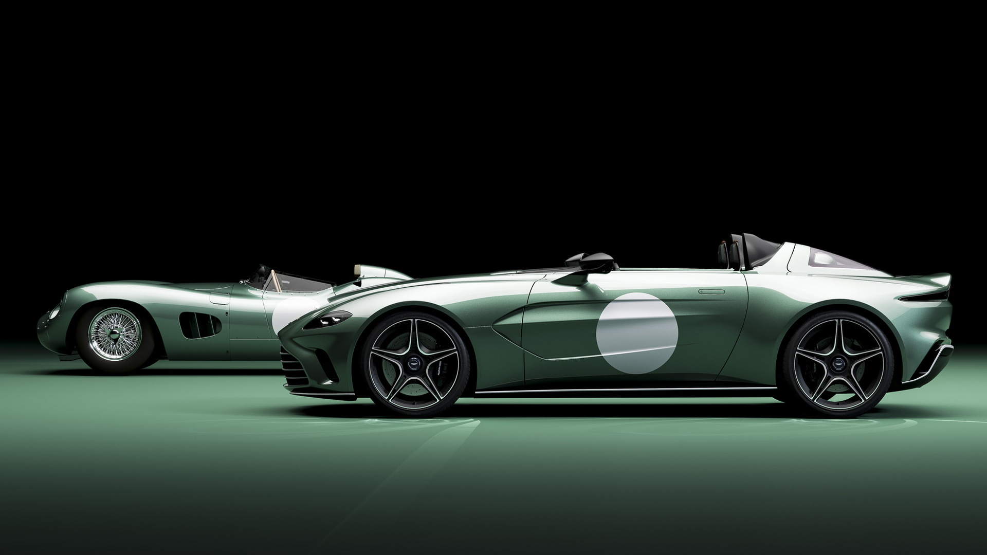 Aston Martin V12 Speedster in DBR1 specification