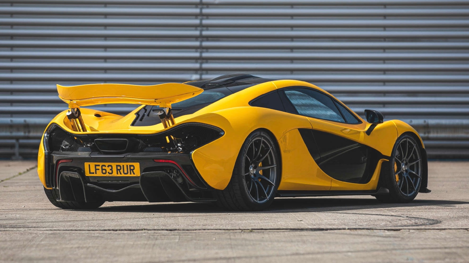 First customer McLaren P1 (Photo by Silverstone Auctions)