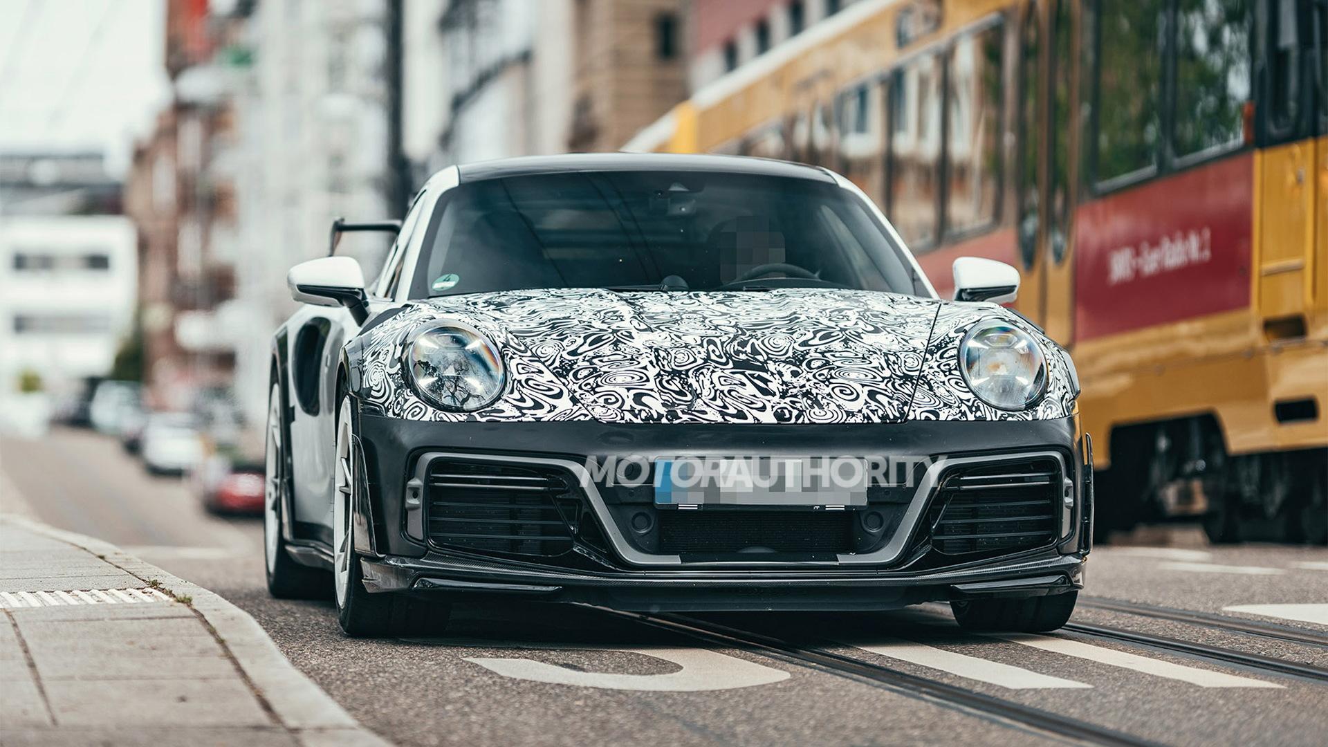 2021 Techart GT Street R spy shots - Photo credit:S. Baldauf/SB-Medien