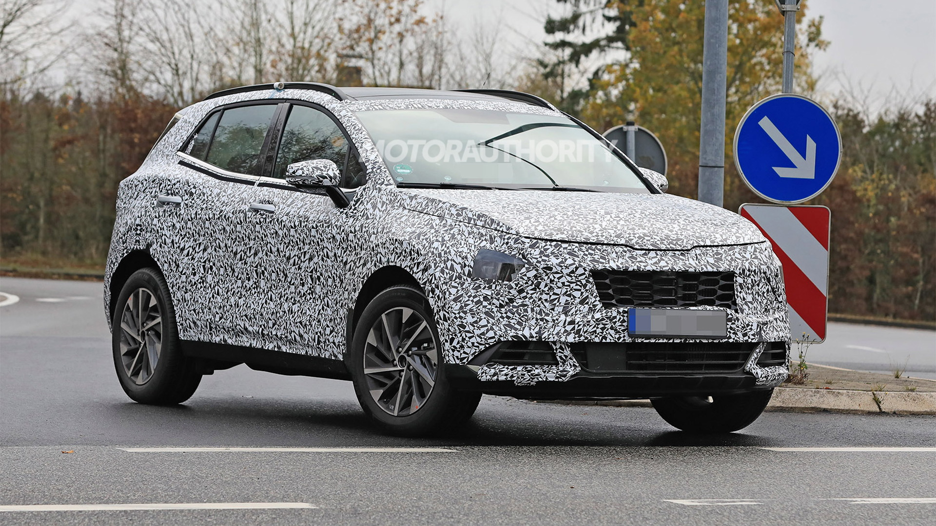 2023 Kia Sportage spy shots - Photo credit: S. Baldauf/SB-Medien