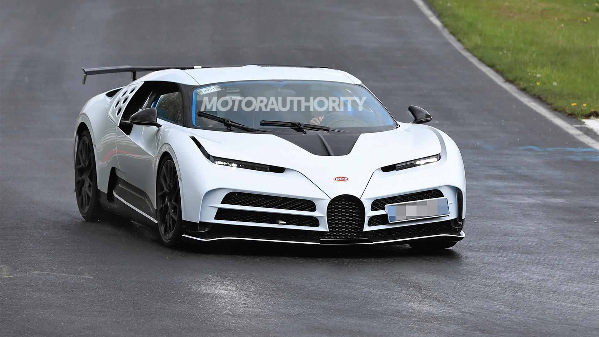 Bugatti Centodieci prototype - Photo credit:S. Baldauf/SB-Medien