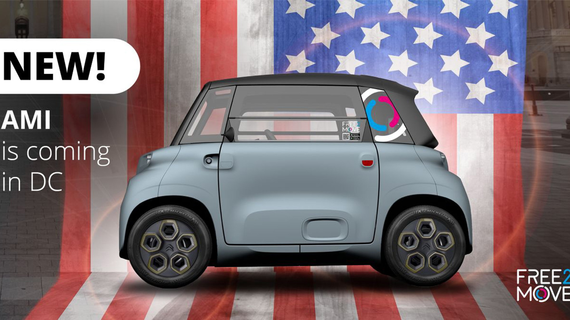 Citroen Ami to join Free2Move fleet in United States