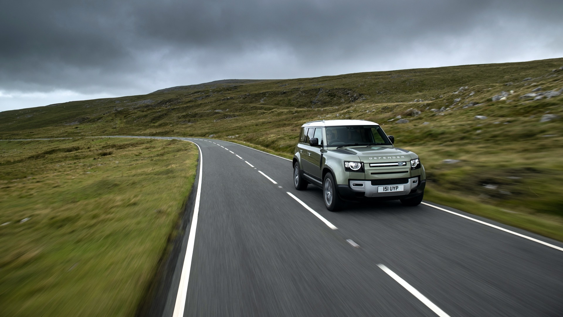 Hydrogen powered Land Rover Defender prototype  -  June 2021