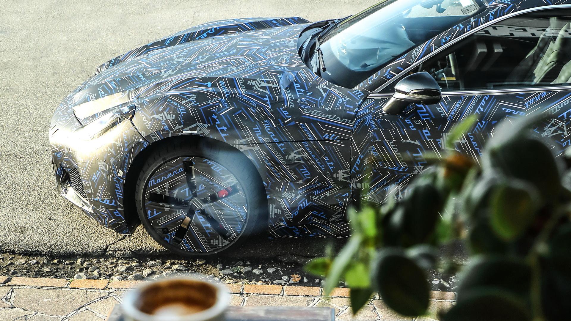 New Maserati GranTurismo prototype
