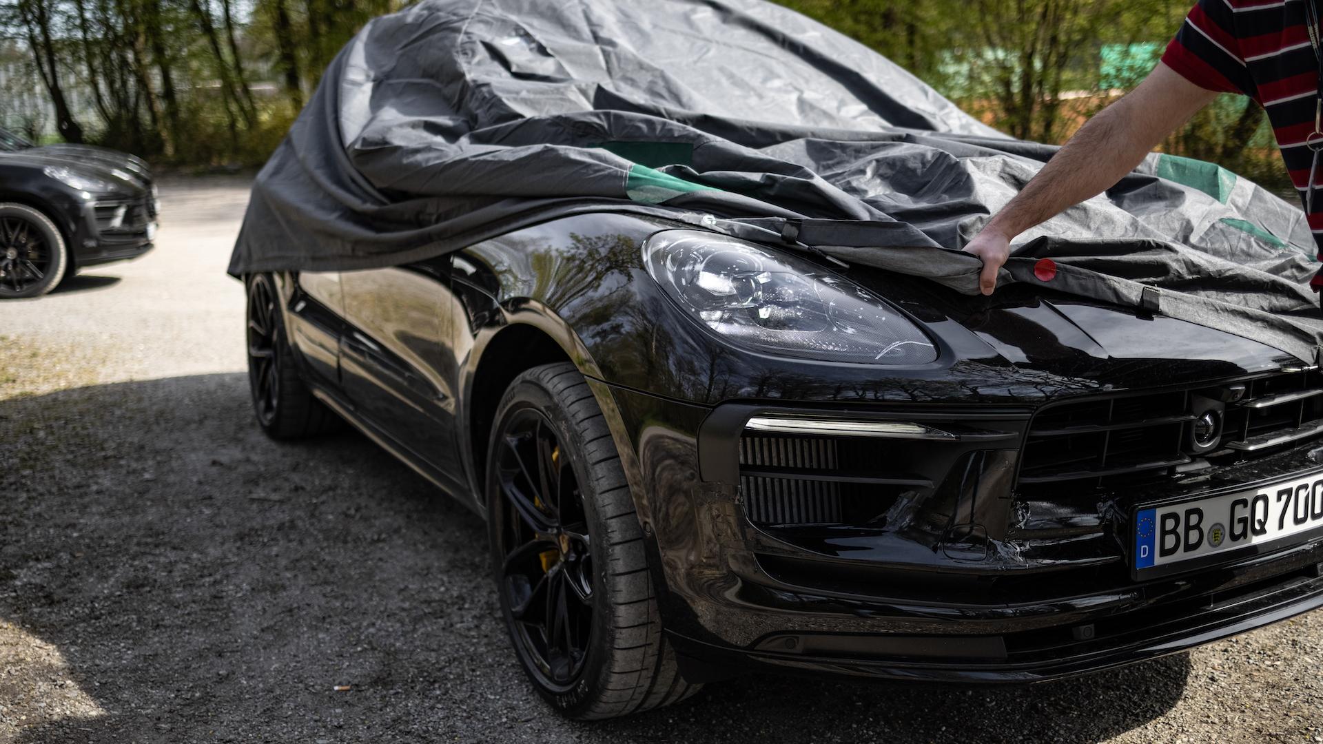 2022 Porsche Macan prototype