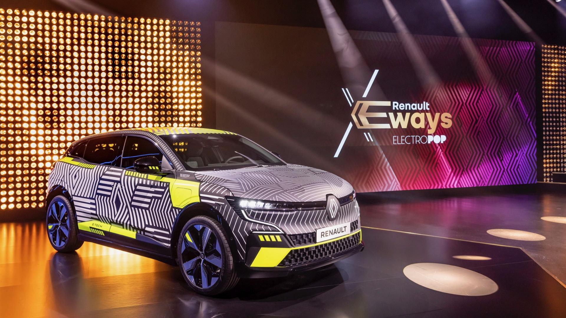 Renault eWays ElectroPop presentation