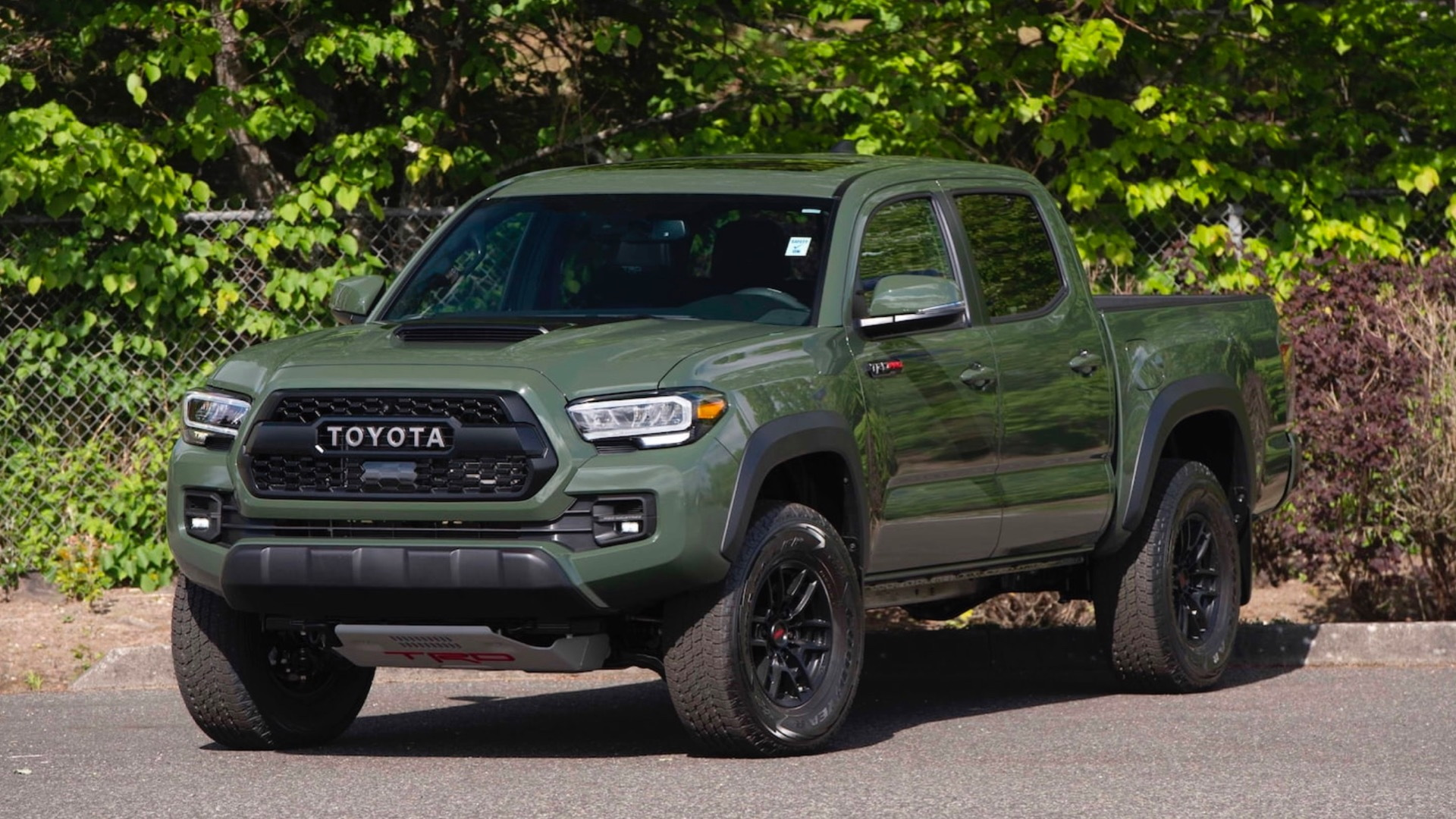 2020 Toyota Tacoma TRD Pro - One millionth Tacoma built (Photo by Mecum Auctions)