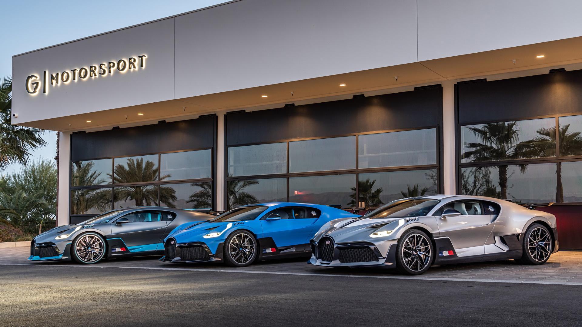 First Bugatti Divo deliveries on West Coast