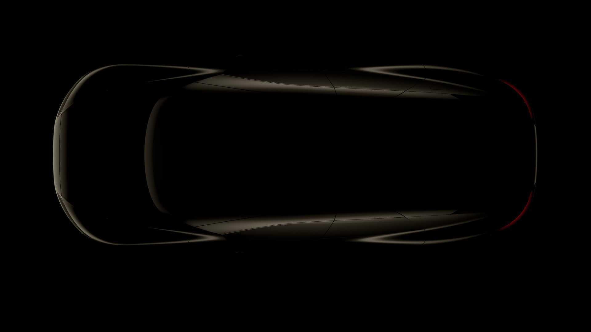 Teaser for Audi Grand Sphere concept