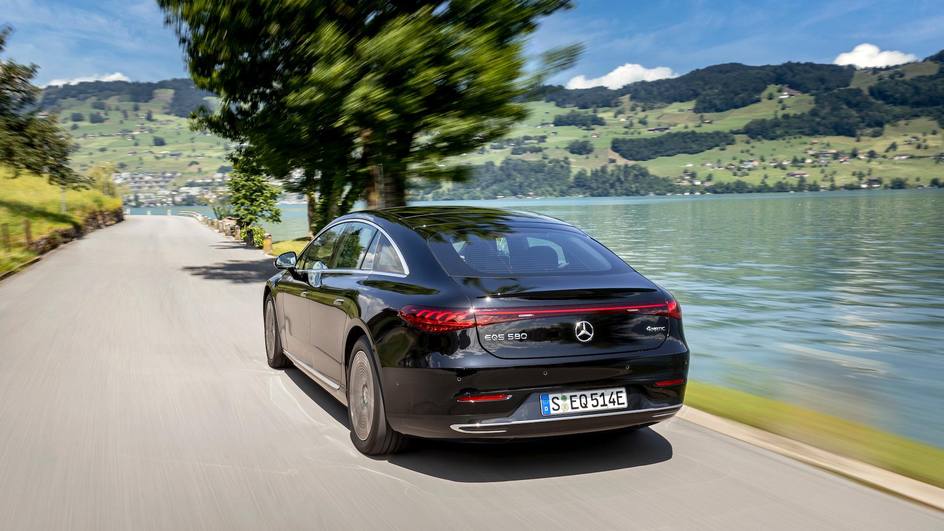 2022 Mercedes-Benz EQS first drive (EQS 580)