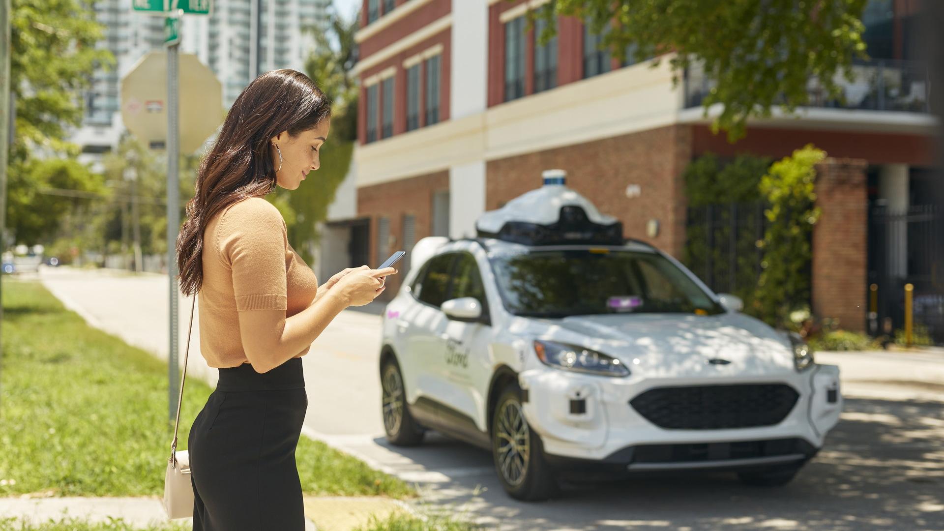 Argo AI self-driving car to join Lyft's fleet in Miami, Florida